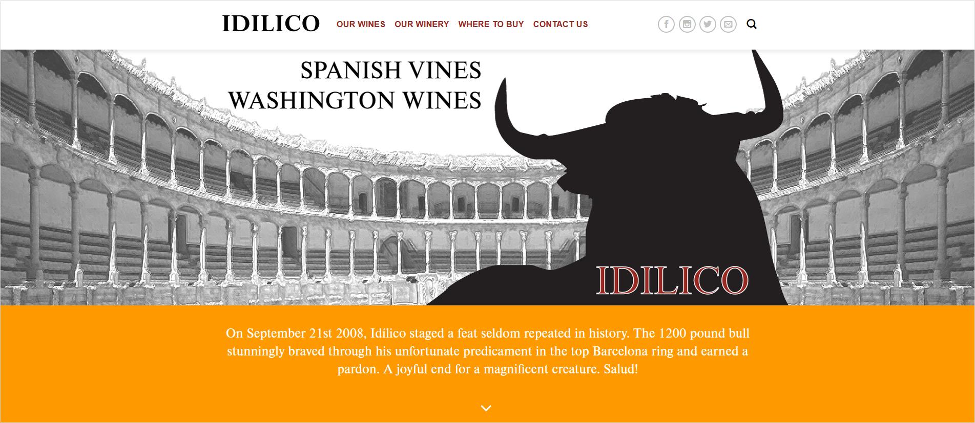 idilico wine