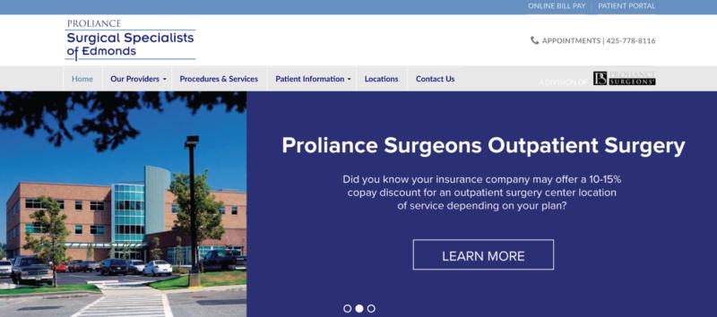 proliance surgical specialists of edmonds