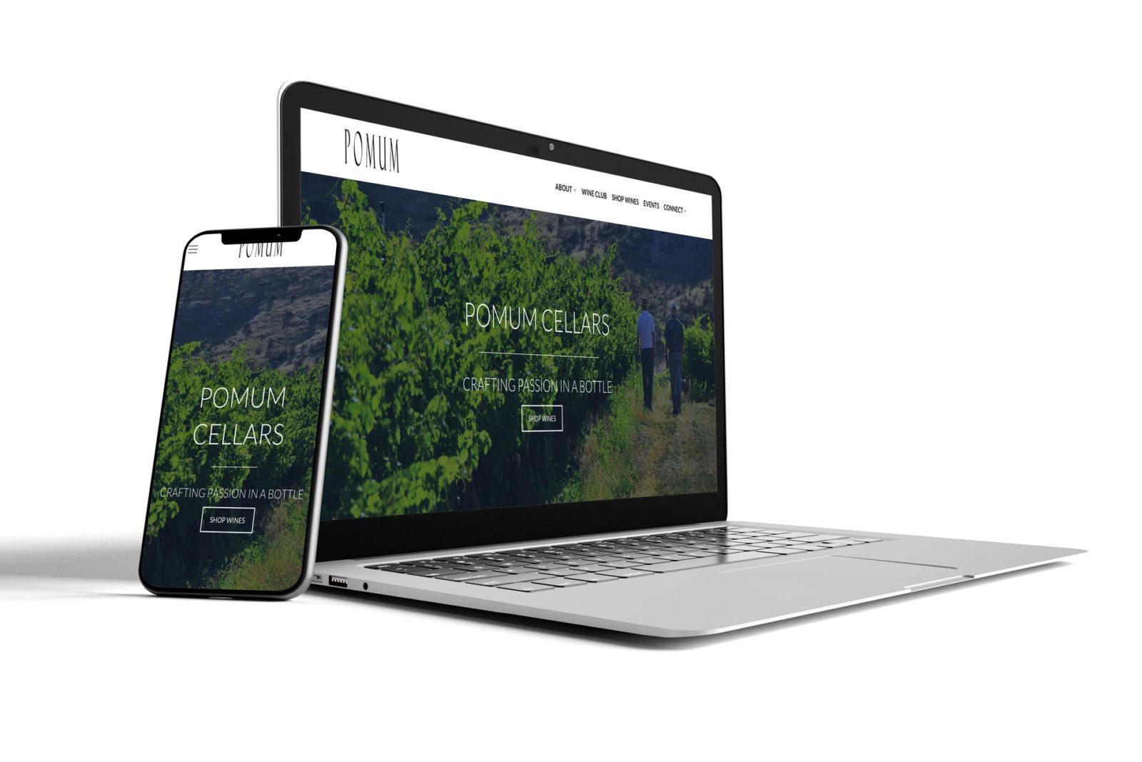 pomum cellars website